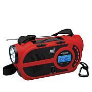 Jensen JEP-650 Portable Weather Alert 4-Way Power Radio & Flashlight