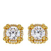 Judith Ripka 4.60ctw Diamonique® 14K Gold-Clad Stud Earrings