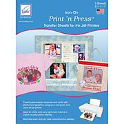 June Tailor Print 'n Press Iron-On Transfer Paper