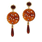 KJL by Kenneth Jay Lane Medallion Drop Earrings