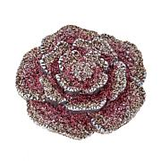 KMO Rose-Design Magnetic Brooch