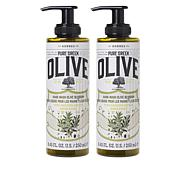 Korres 2-pack Olive Oil & Blossom Liquid Hand Soap