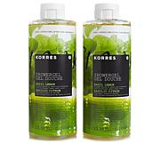 Korres Basil Lemon Shower Gel Duo