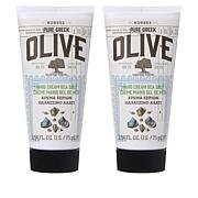 Korres Olive Oil & Sea Salt Hand Cream Duo - 2.54 fl. oz.