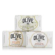 Korres Pure Greek Olive Oil & Honey  Bar Soap Trio