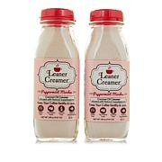 Leaner Creamer Peppermint Mocha Powdered Coffee Creamer 2-pack
