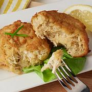 Legal Sea Foods 3 oz. Crab Cakes with Lump Crab Meat - 8-count