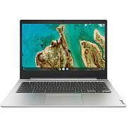 "Lenovo IdeaPad 3 14"" HD Chromebook, 4GB RAM, 32GB eMMC (Platinum Gray)"
