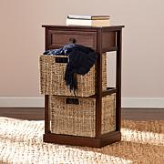 Lewis Basket Storage Shelf