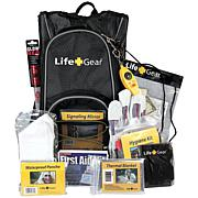 Life+Gear  Day Pack Emergency Survival Backpack Kit