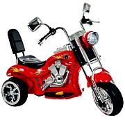 Lil' Rider Red Rocking Three Wheel Chopper Motorcycle