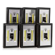 LitezAll by Promier LED Wireless Light Switch 6-pack