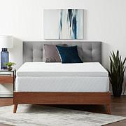 """Lucid Comfort Collection 3"""" Gel Memory Foam Topper with Cover"""