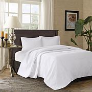Madison Park Corrine 3-pc Reversible Mini Bedspread Set, White - King