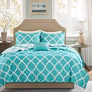Madison Park Merritt Coverlet Set - Cal King/King/Aqua