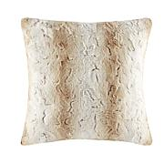 "Madison Park Zuri Faux Fur Euro Pillow 25""x25"""