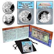 Making American History PR70 ANACS Coin & Currency Set