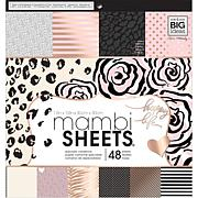 Mambi Single-Sided Paper Pad 12 x 12 48-pack