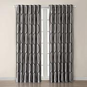 Madison Park Marcel Window Panel - Charcoal