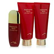 Marilyn Miglin Pheromone Red Body Creme, EDP and Shower Gel