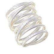 MarlaWynne Satin-Finish Infinity Ring