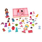 Melissa & Doug Abby and Emma Magnetic Dress-Up