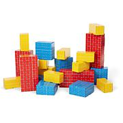 Melissa & Doug Jumbo Cardboard Blocks - 24-Piece