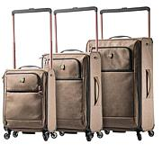 Mia Toro Italy Kitelite Cirro Softside Spinner Luggage
