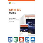 Microsoft Office 365 Home 1-Year Subscription for PC or Mac