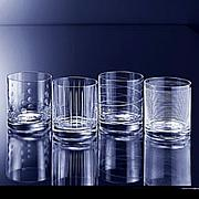 "Mikasa ""Cheers"" Double Old Fashion Glasses - Set of 4"