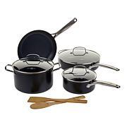 Ming Searsmart  Blue Diamond Nonstick 9-piece Cookware Set