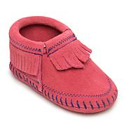 Minnetonka Infant's Riley Suede Fringe Bootie