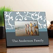 Modern Vine Personalized Picture Frame