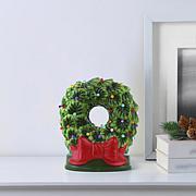Mr. Christmas Nostalgic LED Ceramic Wreath