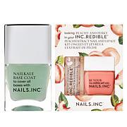 Nails.INC 3-piece Peachy and Perky Nail and Lip Set