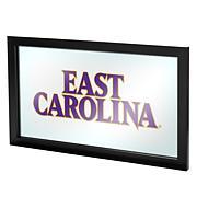 NCAA Framed Team Logo Wall Mirror - East Carolina