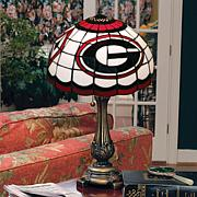 NCAA Tiffany-Style Table Lamp - Georgia