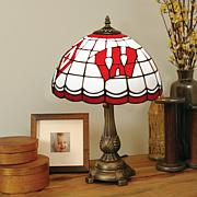 NCAA Tiffany-Style Table Lamp - Wisconsin
