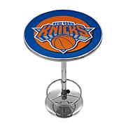 New York Knicks NBA Chrome Pub Table