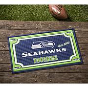 Officially Licensed NFL Embossed Door Mat