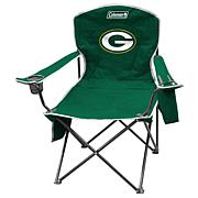 NFL Quad Chair with Armrest Cooler by Coleman