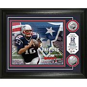 NFL Silver Coin Photo - Tom Brady