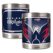 NHL Stainless 2-piece Can Holder Set - Capitals