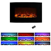 Northwest 36 quot; Curved Color Changing Fireplace Wall Mount Floor...