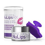 Nurse Jamie NuLips RX Lip Balm & Lip Brush Set