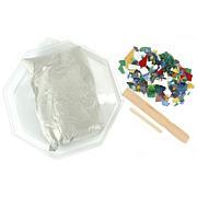 Octogon Mosaic Stepping Stone Kit