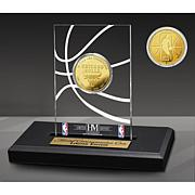 Officially Licensed Champs Gold Coin Desktop Display