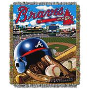 Officially Licensed MLB Home Field Advantage Woven Tapestry Throw