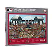 Officially Licensed MLB Joe Journeyman Jigsaw Puzzle - Diamondbacks