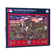 Officially Licensed MLB Joe Journeyman Puzzle - Washington Nationals